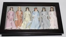 Thomas Pacconi Classics 1900-2000 Victorian Ladies Christmas Ornaments w/ Case