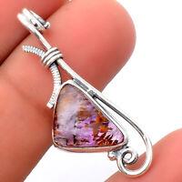 Cacoxenite Super Seven 7 Mineral 925 Sterling Silver Pendant Jewelry 3840