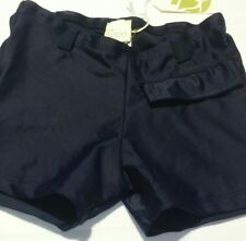 New Little Woo Baby Boys swimming trunks bathing suit size 18mo navy blue shorts