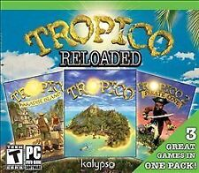 Tropico Reloaded PC New Sealed also includes  Paradise Island and Tropico 2