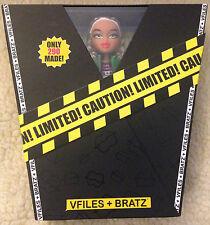 Bratz Vfiles_Vee Filez_Collector's Item_Limited Edition #202 of 290_Super Rare!!