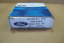 Genuine Ford One Pkg of 2 SETS C7TZ-6148-N Piston Ring Sets Made in England