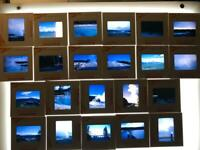 Vintage Lot of 22 Color Photograph Slides 1960's Yellowstone mostly Kodachrome
