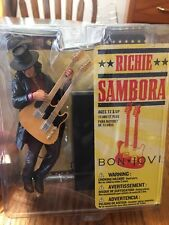 Mcfarlane RICHIE SAMBORA Action Figure ~ New Sealed Package MIP Bon Jovi