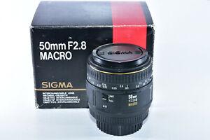 Sigma EX DG 50mm f/2.8 Macro 1:1 D Lens For Nikon FX or DX