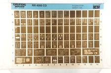 Grundig Service RR 4000 CD Radiorekorder Radio Cassette Microfiche 1994 K174
