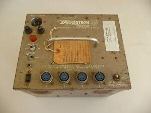 Vintage Speedotron Electronic Flash Power Supply Model D400C
