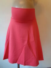 ASOS VIBRANT CORAL PINK MATERNITY FLARE SKIRT ALL SIZES 6-20 BNWT