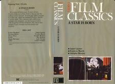 BETA  A Star Is Born (1937)   Video Film Classics Series  Janet Gaynor