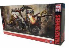 DHL 4d Hasbro Transformers Platinum Edition Dinobots G1 Head Grimlock Slug Set