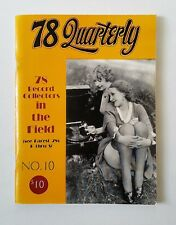 78 Quarterly Magazine, Number 10