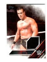 WWE Alberto Del Rio 2016 Topps Event Used Shirt Relic Card SN 169 of 299