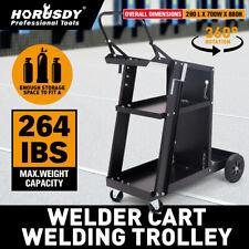 Welding Cart Trolley Welder Storage Bench MIG TIG Arc MMA Plasma Cutter