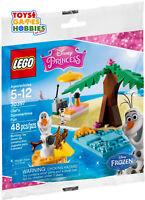 *NEW*  LEGO Disney Princess Olaf's Summertime Fun 30397 Frozen Snow Man Snowman
