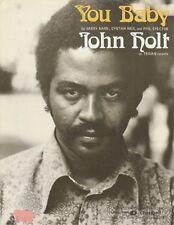 You Baby - John Holt - 1975 Sheet Music