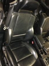 BMW E46 M3 Passenger Seat Black Leather Convertible Control Seats Converitable
