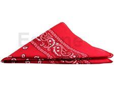 Cotton Paisley Bandanas double sided head wrap scarf