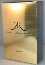 Gold by Kim Kardashian for Women Eau De Parfum 3.3oz 100 ml Spray New In box