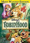 Disney's Robin Hood DVD, 2006, Most Wanted Edition FactorY Slipcover