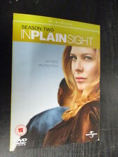 ***In Plain Sight - Season 2 - Complete  DVD - FREE POST***