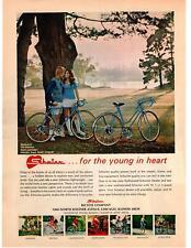 1972 Schwinn Bicycles Super Sport 10 Speed Bike Short Skirt Chicago IL Print Ad