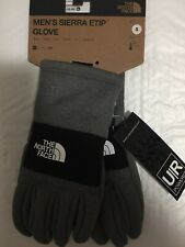 New listing The North Face Mens Womens Ur Powered Etip Glove Heather Grey Size Small