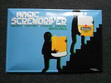 Heineken Magic Screwdriver  großes Blechschild  Bierschild
