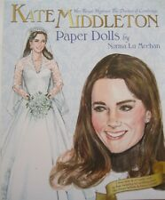 Her Royal Highness KATE MIDDLETON Paper Doll Book--2 Dolls w/ Authentic Outfits