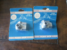"2 - Plumb Shop Pssc 61 Steel Gas Valves 5/8"" Od Tube (Flare) X 3/4"" F.I.P."