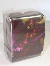 WARLOCK DECK BOX CARD BOX FOR WoW World of Warcraft or MTG or Pokemon cards