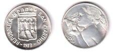 1973 San Marino Lire 500 Argento Donna e Colomba Emilio Greco FDC Unc