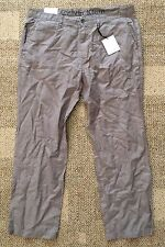 Mens Calvin Klein CK Size 38 38 x 30 Gray Casual Straight Fit Pants Stripe