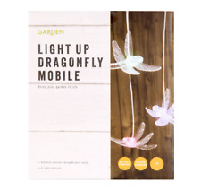 Dragonfly Garden Hanging Lights Outdoor Light Up Decoration Patio Mobile BBQ New