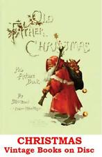 Christmas Customs Xmas Traditions Legends Images 34 Vintage eBooks on Data Disc