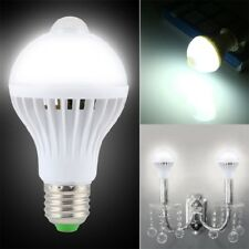 E27 5W Auto Motion Control PIR Sensor SMD LED Dusk till Dawn Sensor Light Bulb
