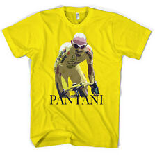 Marco Pantani, Giro Tour De France Ciclismo Jersey Unisex T Shirt Todos Los Tamaños