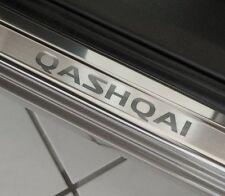 Edelstahl  Einstiegsleisten Nissan Qashqai J11 bj 2014 mit LOGO