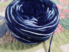 Far Out Fiber Handcrafted 2 strand multi colored blend cake bulky. 3.5+ ounces!
