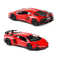 Lamborghini Aventador LP750-4 SV 1/36 Model Car Diecast Vehicle Toy Kids Red