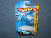 2007 HOT WHEELS PROTOTYPE H-24 2008 FIRST EDITIONS 1:64 BLUE DIECAST CAR - NEW