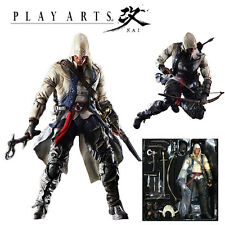 Assassins Creed 3 Play Arts Kai Connor Davenport Square Enix Action Figure Toy