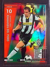 2008-09 Panini WCCF CRACK Alessandro Del Piero Juventus Refractor card Rare