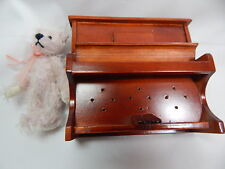 "World of Miniature Bears 3"" Mohair Piano Bear #1195 Christmas sale"