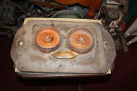 Large Antique Industrial Mold Metal & Wood Industrial Decor Mold #2