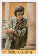 figurina CANTANTI PANINI 1968 REC numero 169 GENE GUGLIELMI