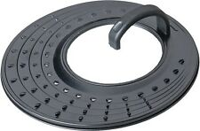 Protección contra salpicaduras para Sartenes y Ollas 20/24/28cm Acero al carbono