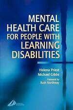 Mental Health Care for People with Learning Disabilities, 1e by Priest PhD  MSc