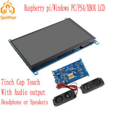 Raspberry Pi 7inch LCD USB Capacitive Touch screen for computer PC XBOX PS4