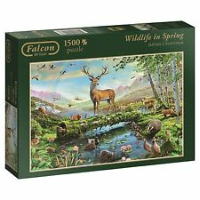 JUMBO*FALCON PUZZLE 11143*1500 TEILE*WILDLIFE IN SPRING*ADRIAN CHESTERMAN*OVP