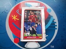 Panini Euro 2016 Coca Cola Stickers Bulgarian Edition Gerard Pique